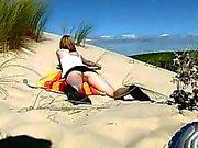 18yo teen nudist at the beach