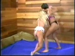 Vintage Mature vs Young Catfight