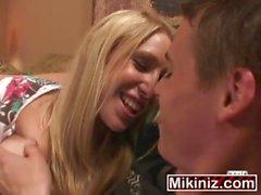 Happy Endings Allison Pierce, Big Boobs Blonde One Teen