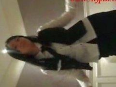 Korean Bank Teller Dances and Fucks in Hotel Room