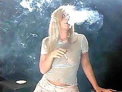 smoking babysitter