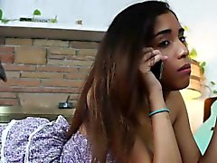 Ebony stepsister fingered