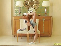 flexible skinny teen gymnast