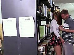 Teen Joseline Kelly Gets Groped By BF Inside The Library
