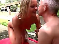 Young girl and old man hot sex Paul is getting on a bit and