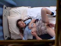 Japanese Schoolgirl get a massage and a fuck (asian japanese japan street teen )