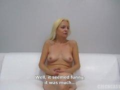 Czech Stepmom Casting - Mature Blanka