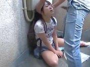 Japanese teen's deep throat