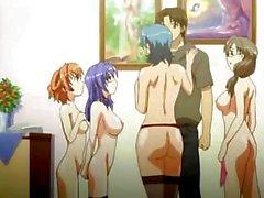 Japanese Cartoon - Group Party