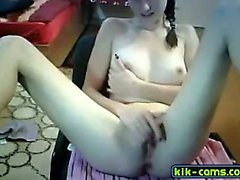 Sexy Teen girl naked on webcam