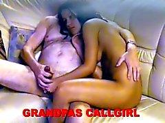 grandpa and his ho