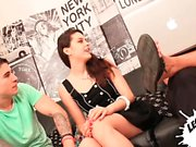Carolina Abril has a dirty mind and she just loves showing