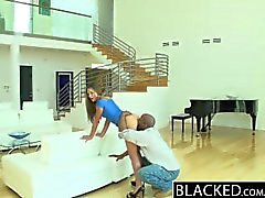 BLACKED Brunette Teen vs BBC