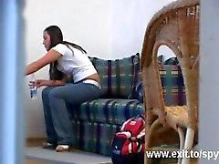 Voyeur movie my 19 years neighbor Alice masturbating