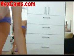 Hot Webcam Girl Striptease For You 6