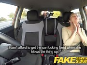 Fake Driving School little English teen gets fucked after he