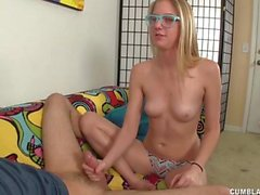 Hot Teen Gets A Cumblast