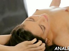 Girl likes a-hole fuck as lengthy as it is slow and gentle