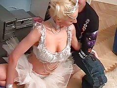 Sexy kamasutra sex with skinny ballerina