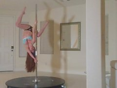 Veronica Vain Teases and Dances on her Pole