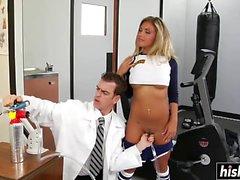 Aubrey Addams gets a nice hard dick