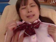 Yummy Schoolgirl Gets Banged