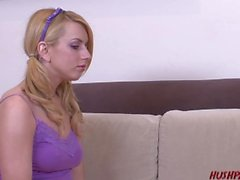 Young Lexi Belle Picked Up and Rides a Thick Cock