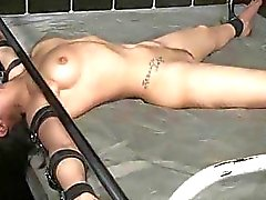Bound Teen Throated and Roughly Fucked!