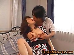 eri nakata japanese mature lady engages