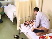 A Public Hospital Is Where This Teen Loves To Fuck