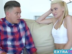 Blonde cutie Jessie Young sends nudes and gets dick