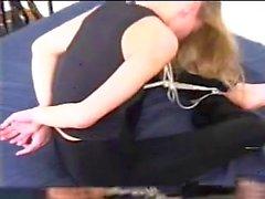 Gorgeous Blonde Ball Tie Escape Challenge