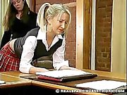 Schoolgirl's Short Skirt Punishment
