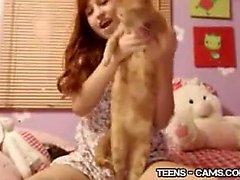Adorable Teen Webcam Free Amateur Porn Video 3a