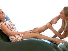 Lesbian Foot Worship 2