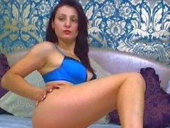 hot brunette showing her body just for you 3 .wmv