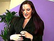 Hot brunettes Caroline Pierce and Jesse Jordan in threesome