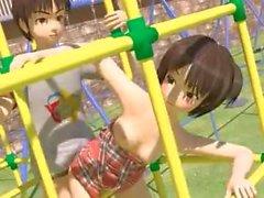 3D Teen Playground Fuck