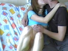 Young small tits hardcore cute russian couple