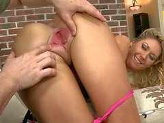 After granting her access, Alysha gave me a superb blow job