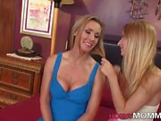 blonde milf gets fingered masturbation