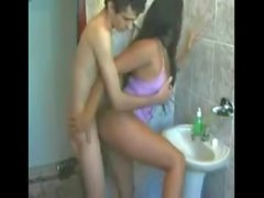 Real Homemade Amateur Young Brazilian Couple