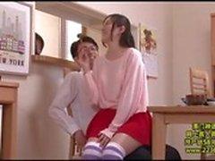 NHDTA-738 My Older StepSister Sits On My Lap!