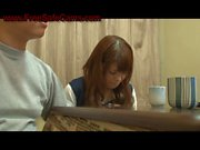 dirty habits at dinner for young japanese babe