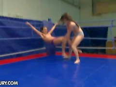 Nude Fight Club presents Tiffany Doll vs Denise Sky
