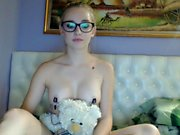 Hottest Nipples of a 19yo Teen on Webcam