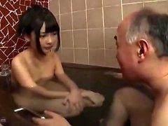 Young amateur shower fuck