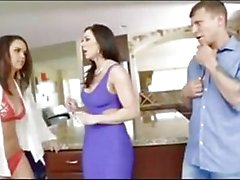 Threesome after wife watches a girl!