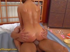 slippery nuru massage couple