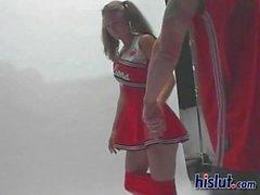 Giselle a cheerleader